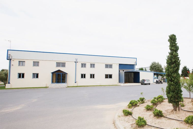 The company's headquarters are based in the industrial park of Oreokastro